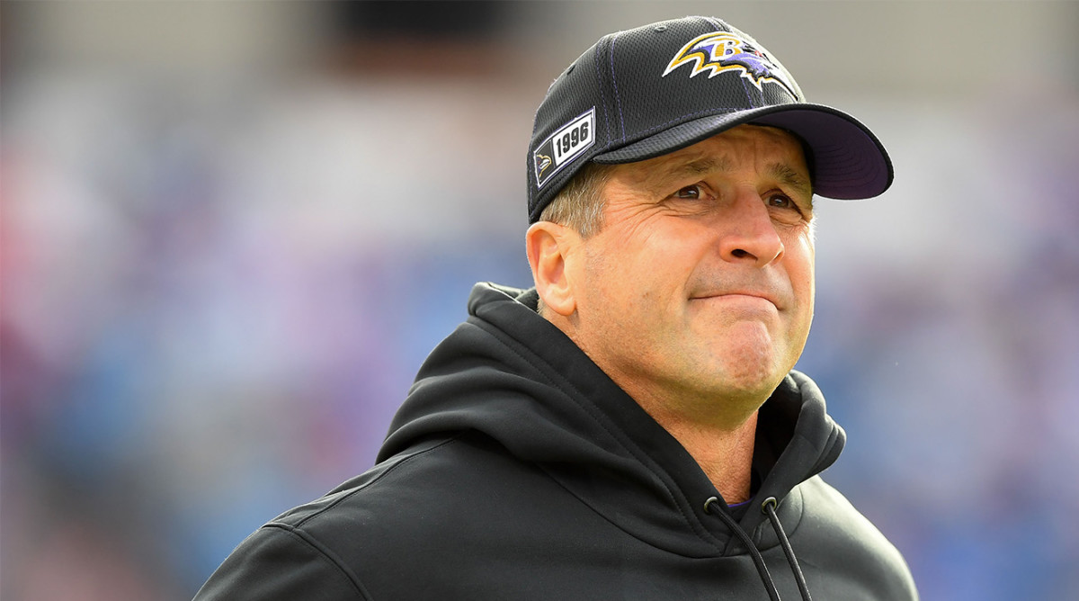 Report: Harbaugh to Miss NFL Combine After Knee Surgery