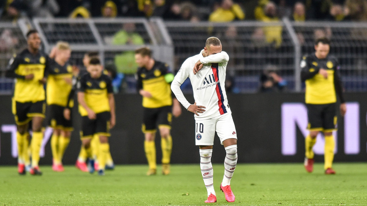 Tensions Rise at PSG After UCL Loss to Dortmund