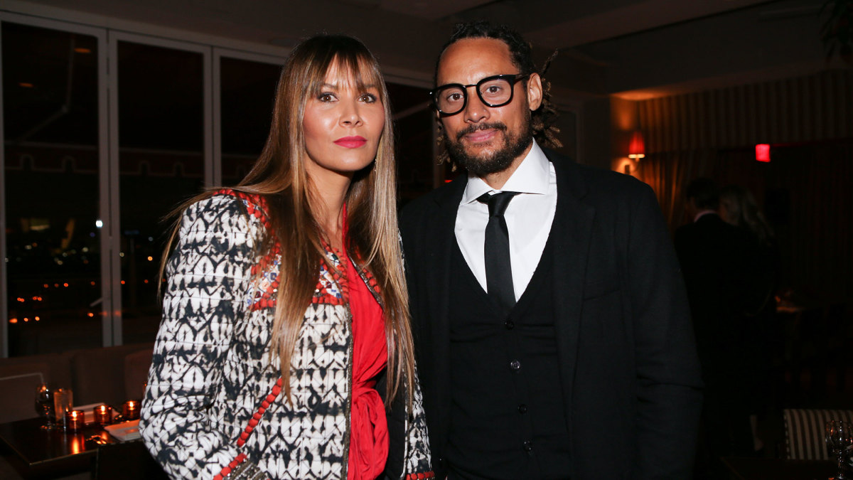 Jermaine Jones and his ex-wife Sarah