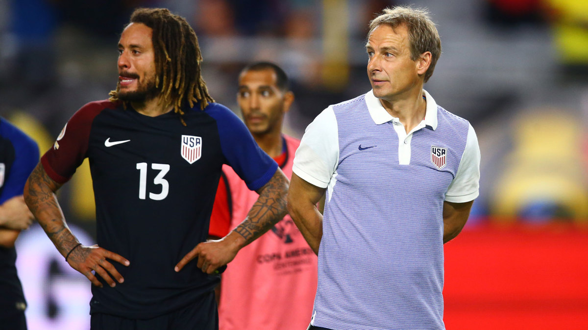 Jermaine Jones and Jurgen Klinsmann