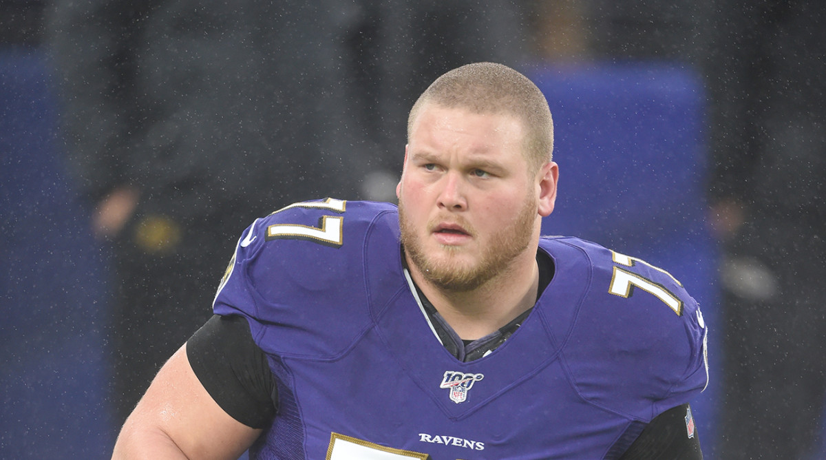 Baltimore Ravens Bradley Bozeman Takes Down 72-ounce Steak