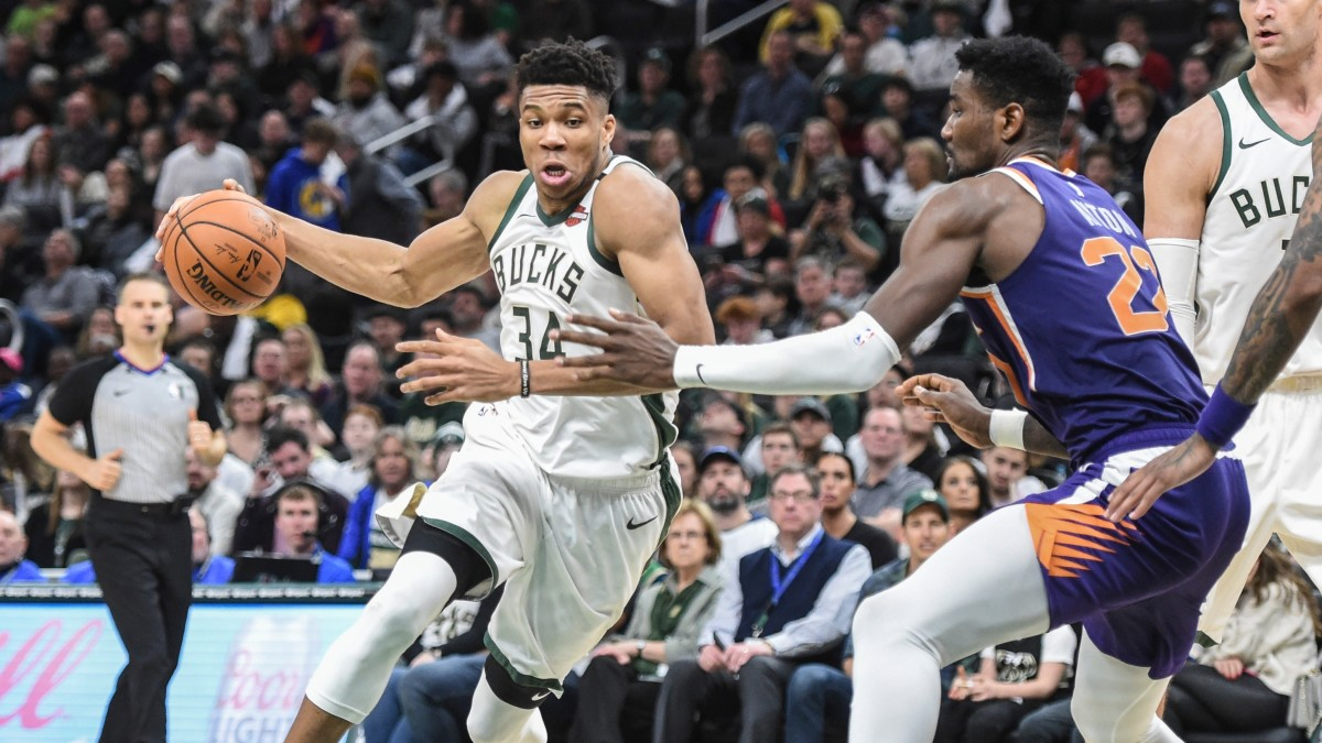 Bucks Become First Team to Clinch Playoff Berth