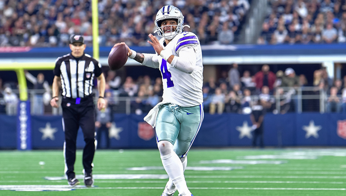 Prescott threw for 4.902 yards last year—one yard short of Tony Romo's team record.