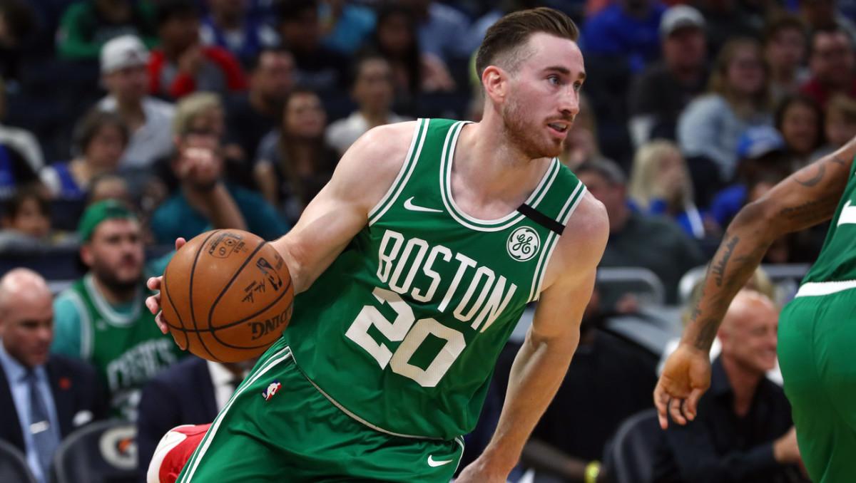 NBA DFS, Gordon Hayward, Boston Celtics
