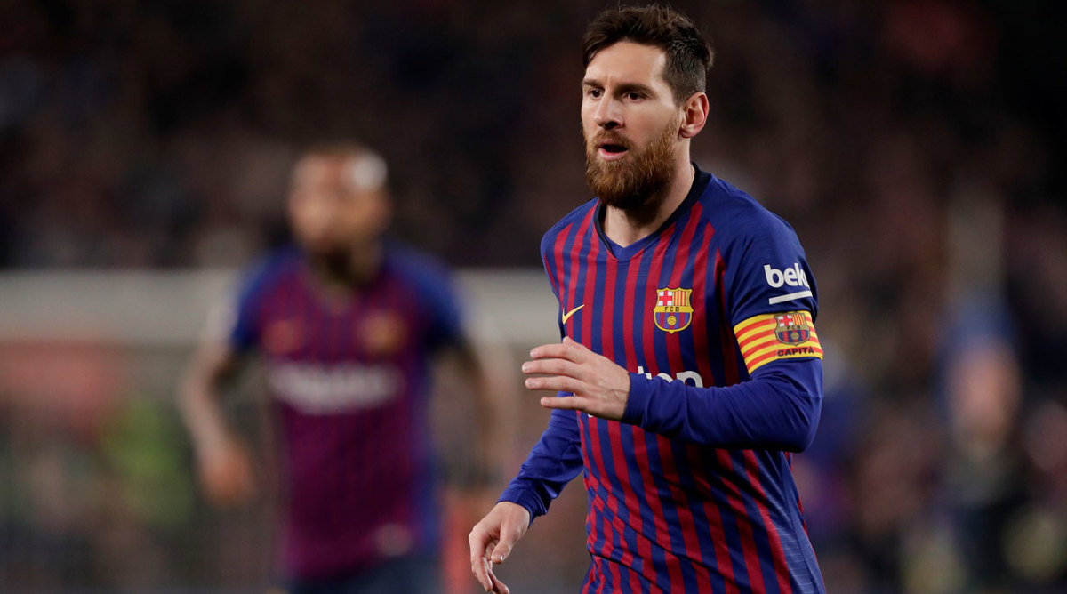 UCL LIVE: Messi, Barcelona Face Napoli in Last 16