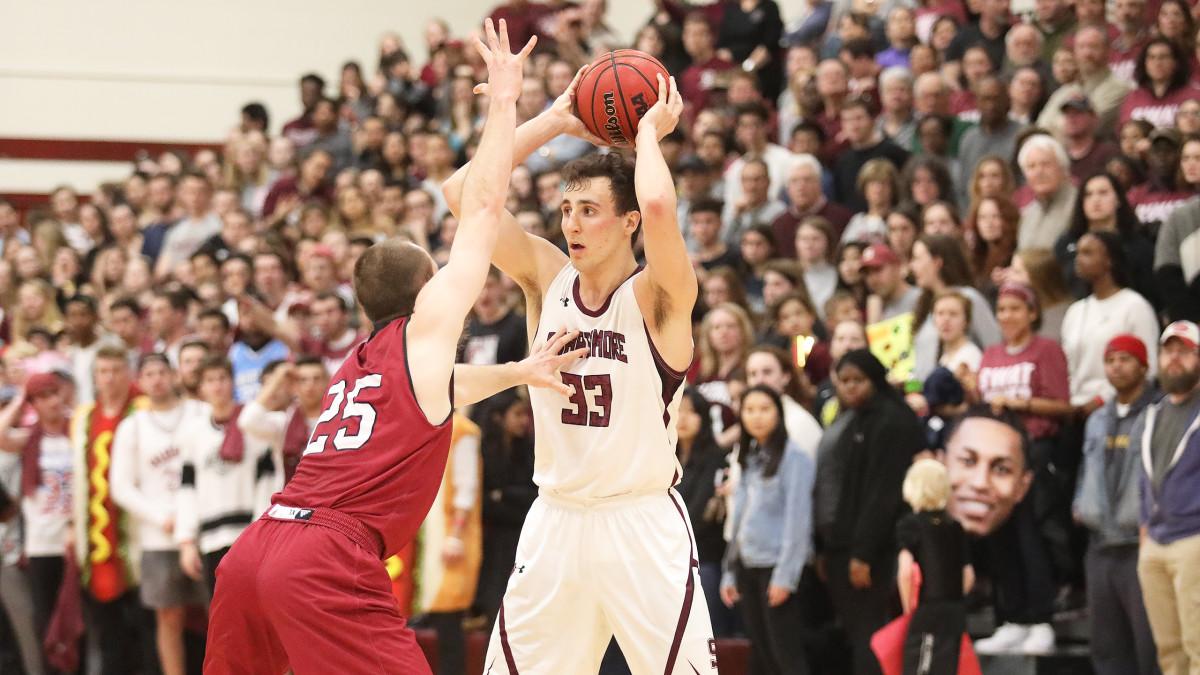 Zac O'Dell Swarthmore basketball