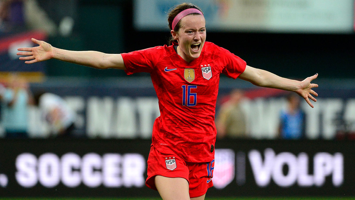 Rose Lavelle leads the USWNT in the SheBelieves Cup