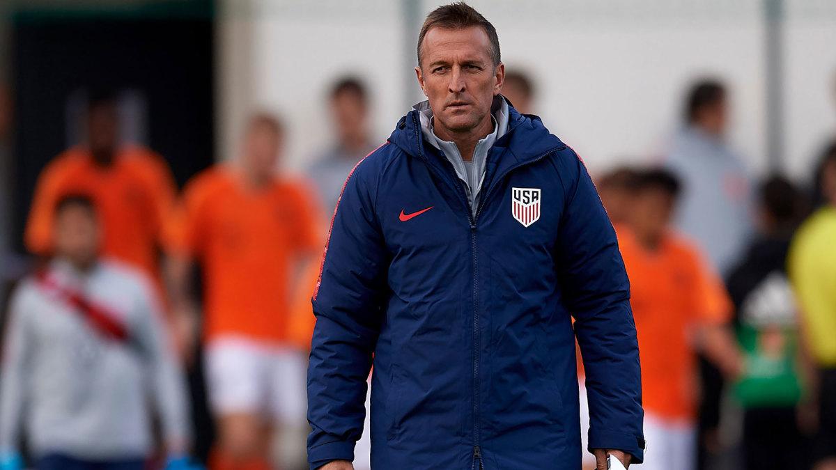 USA U-23 manager Jason Kreis