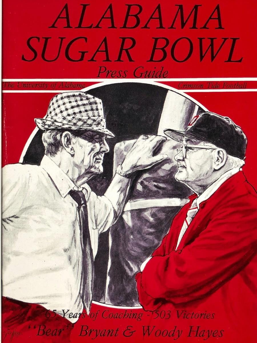 Media Guide for 1978 Sugar Bowl, Alabama vs. Ohio State