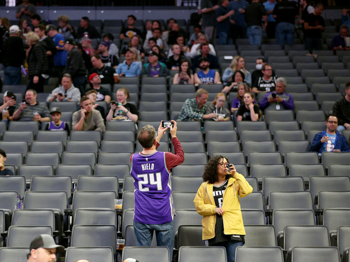 The Pelicans-Kings game in Sacramento was canceled on Wednesday night after the NBA decided to suspend its season.