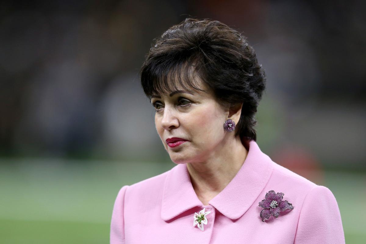 Gayle Benson - Saints Gand Pelicans Owner
