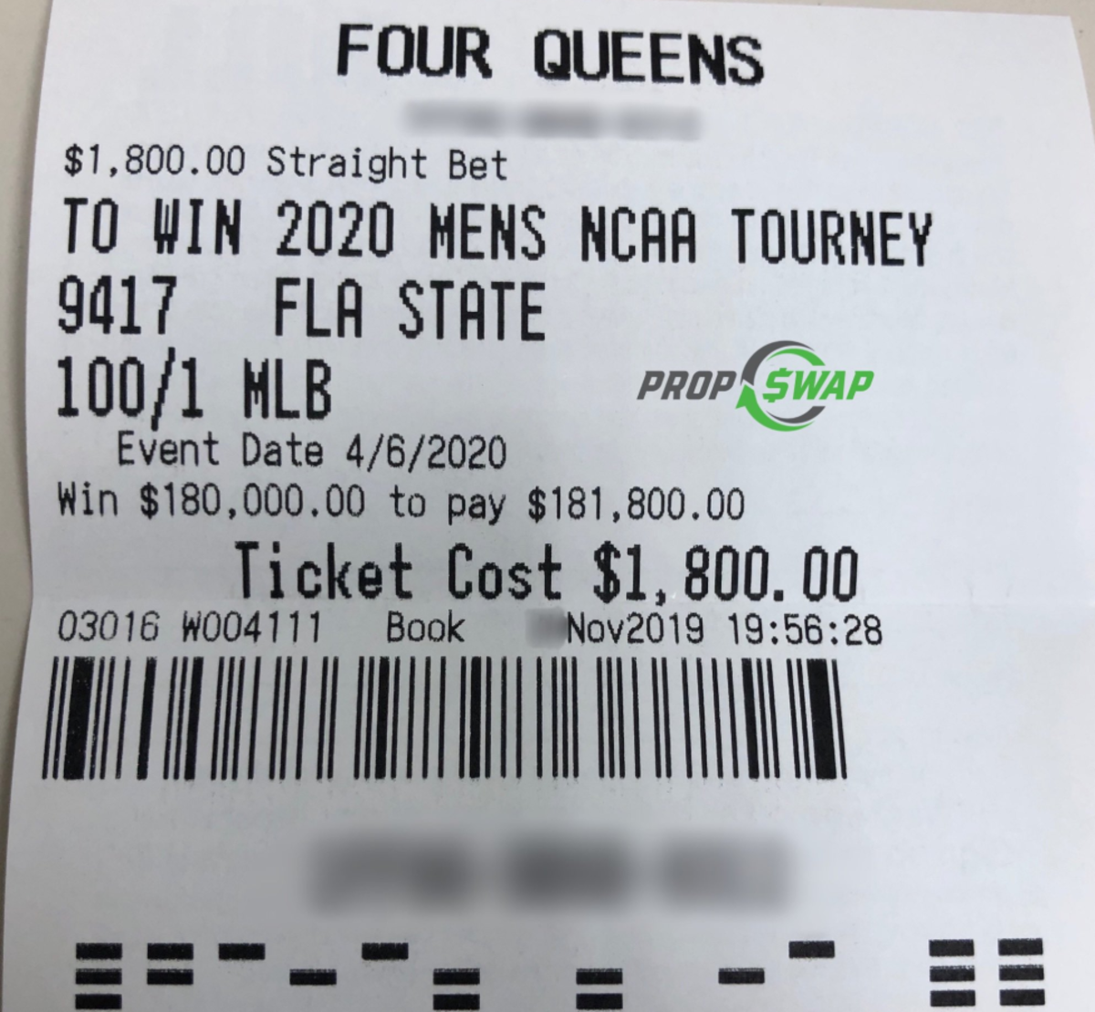 most bets on ncaa tournament