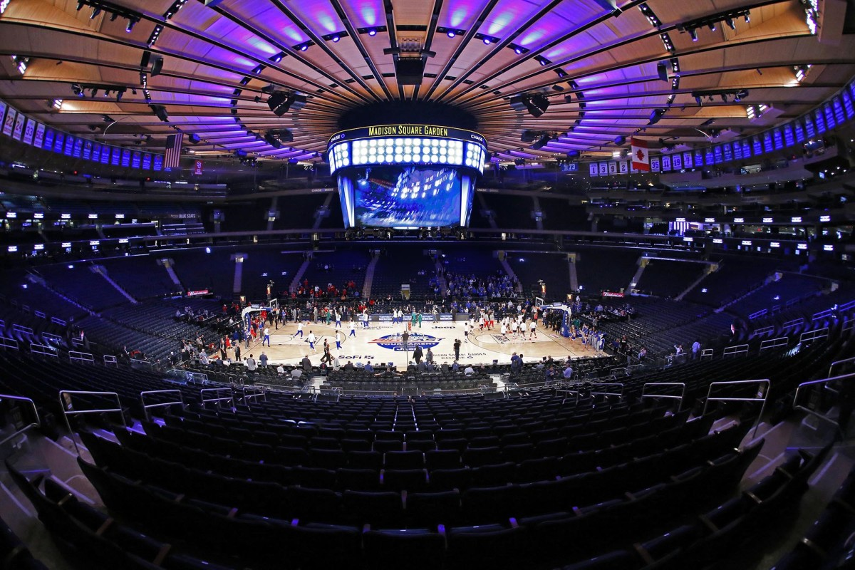 St. John's vs. Creighton ahead of the Big East Tournament game at Madison Square Garden.