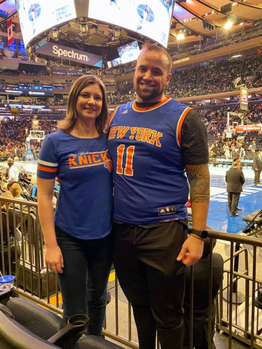 Zach Horwitz and his wife