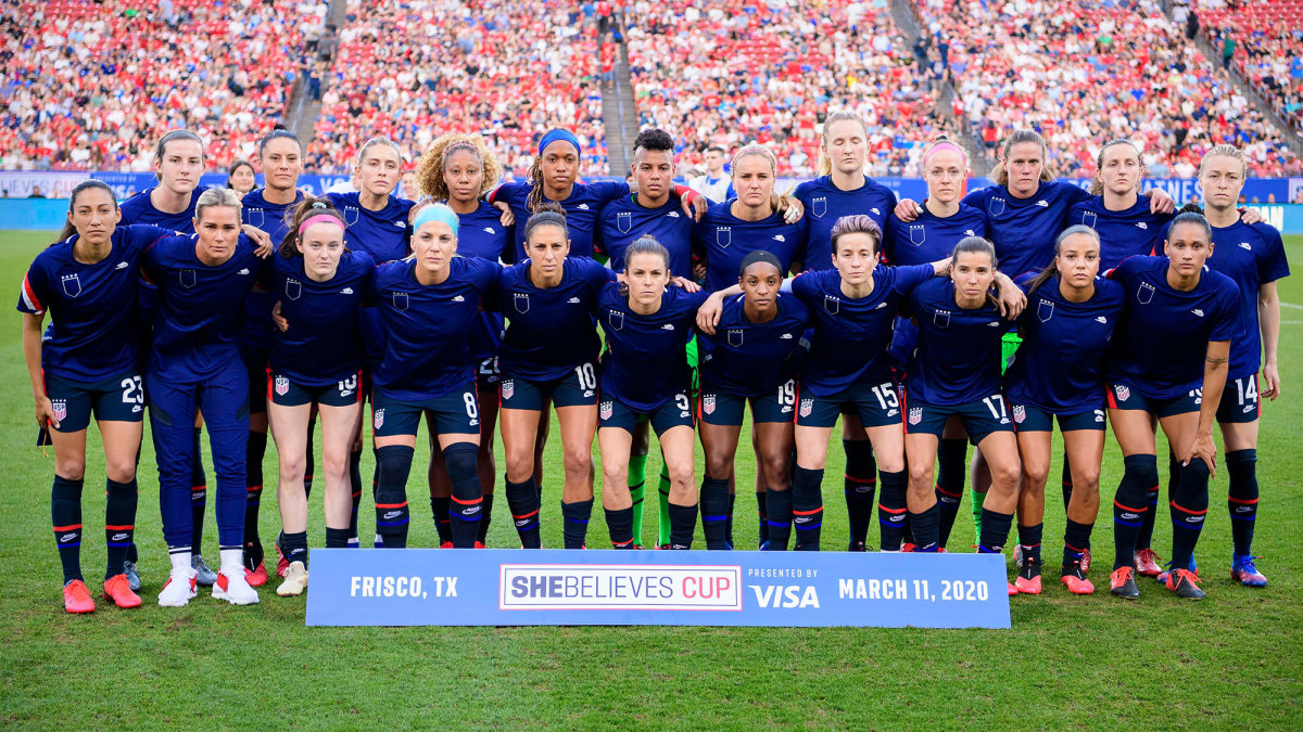 The USWNT protests U.S. Soccer