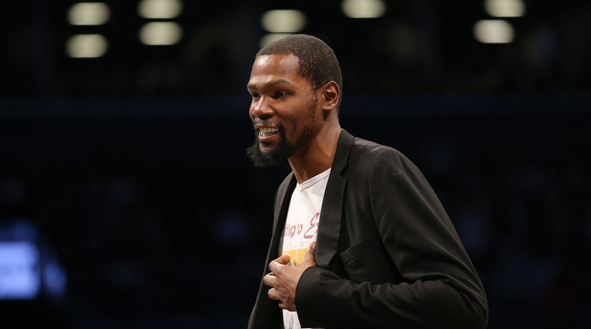 Kevin Durant Says He Won't Play With Nets When Season Resumes in Orlando