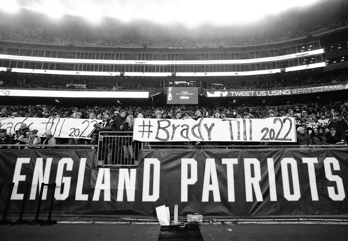 Tom Brady Patriots fans