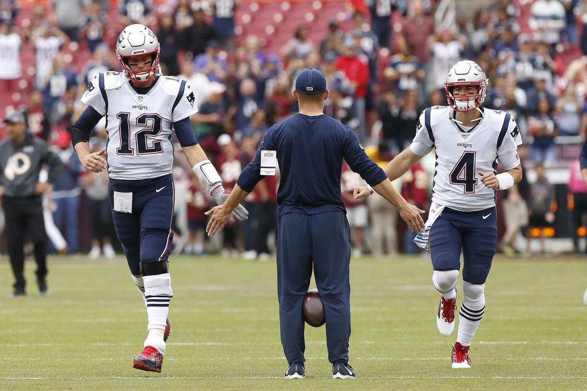 Jarrett Stidham could replace Tom Brady