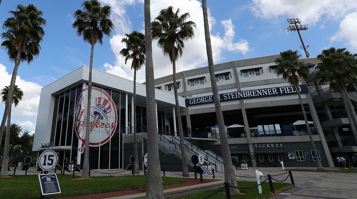 The big league Yankees have left town. But the Bombers' minor leaguers are quarantined through March 25.