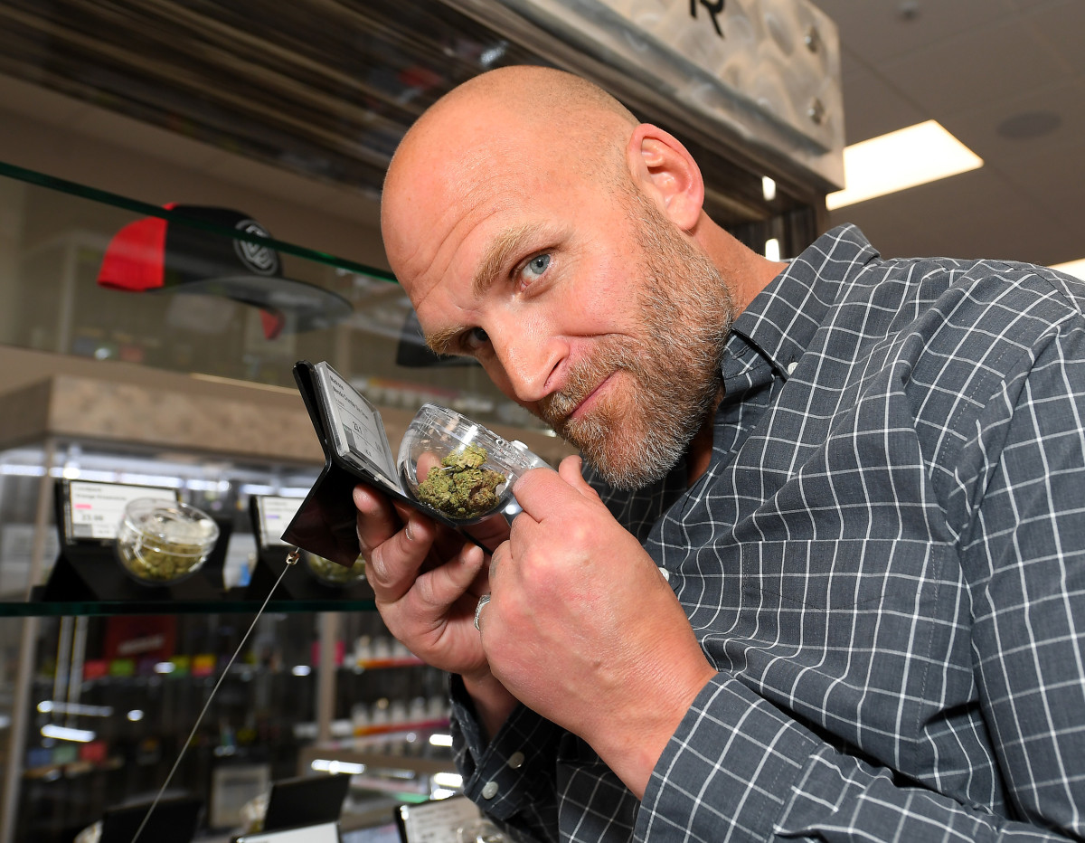 Kyle Turley is a Cannabis Dispensary Business Owner
