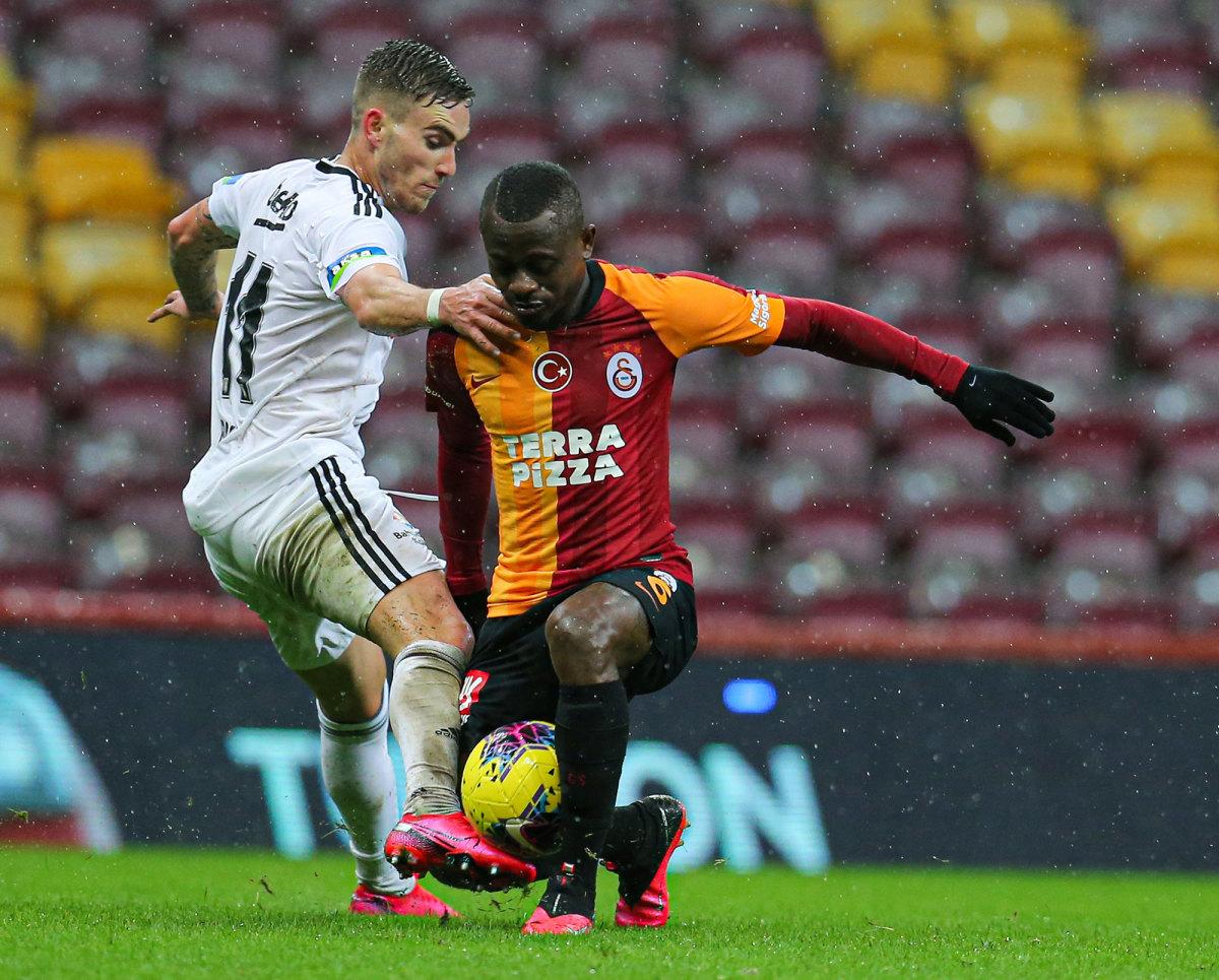 Tyler Boyd and Besiktas played Galatasaray to a scoreless draw in an empty stadium