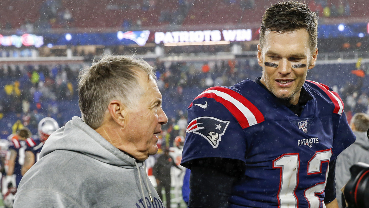 "Belichick called Brady a ""special person"" as well as ""the greatest quarterback of all-time."""