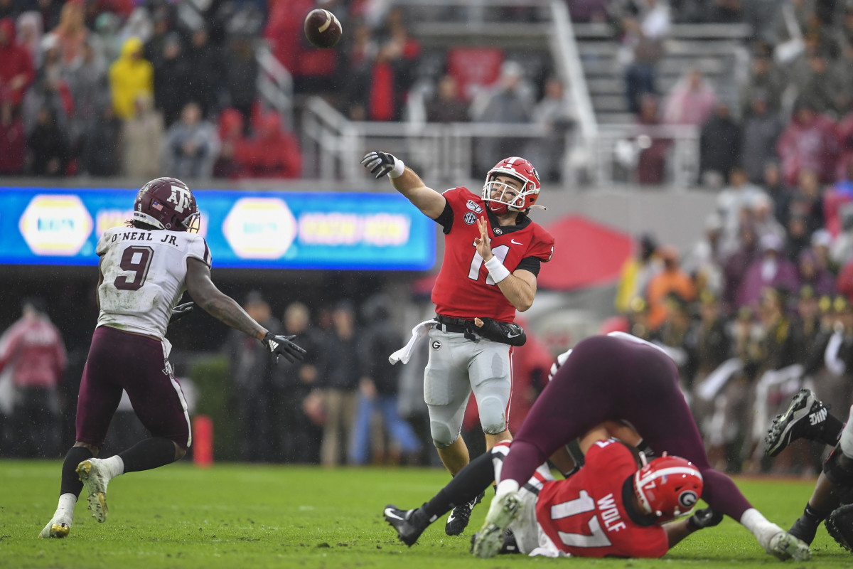 University of Georgia QB Jack Fromm is NFL Draft prospect for the New Orleans Saints