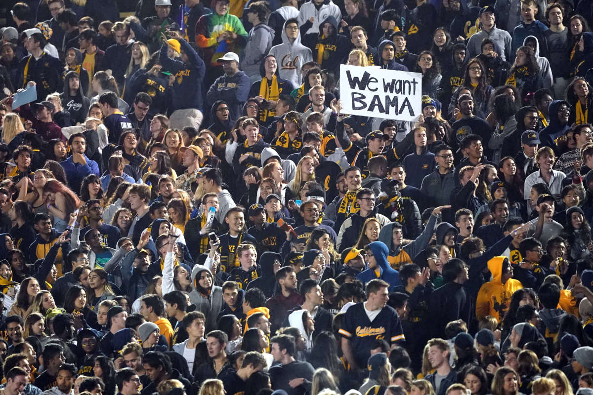 Cal crowd