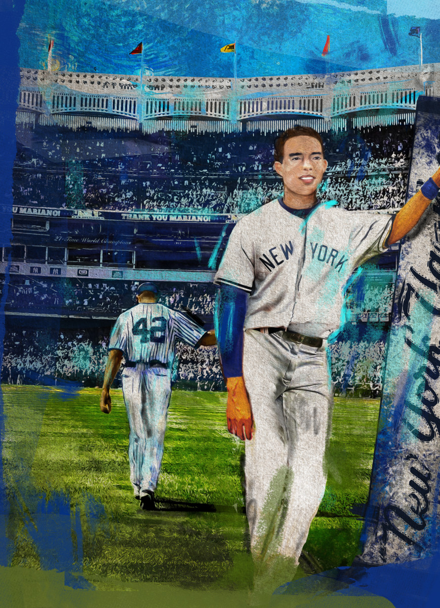 Mariano Rivera 1992 Topps card redesigned by Andrew Thiele