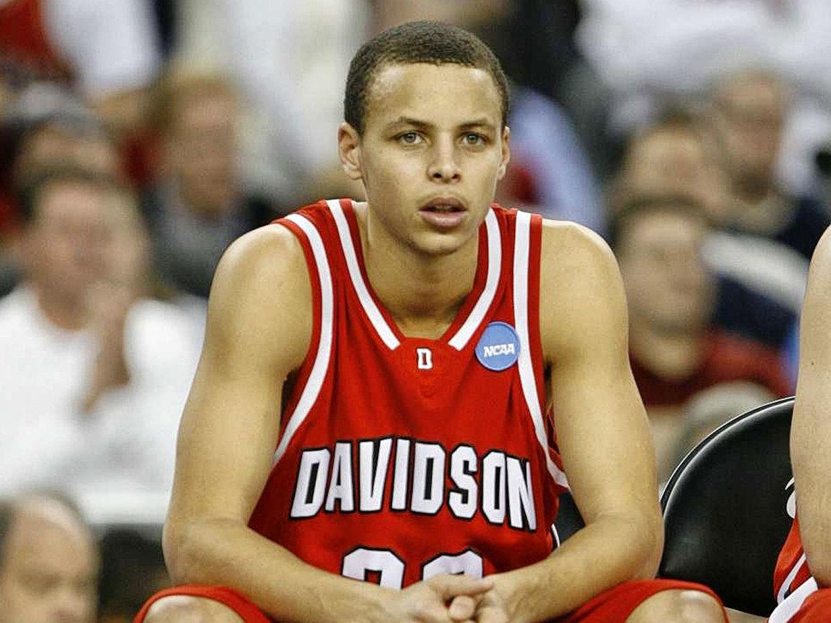 Stephen Curry Davidson NBA