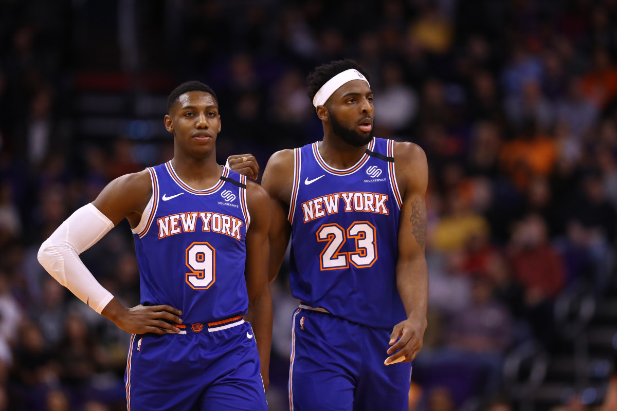 Knicks News Your 2020 2021 Knicks Starting Lineup Sports Illustrated New York Knicks News Analysis And More