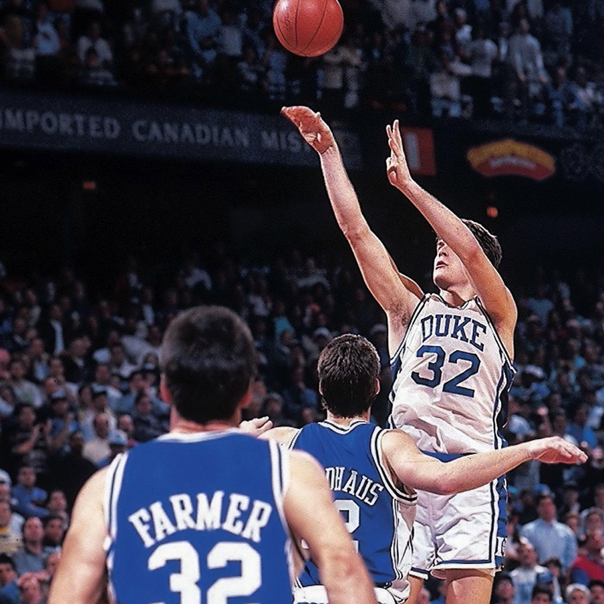 Christian Laettner the shot Duke Kentucky