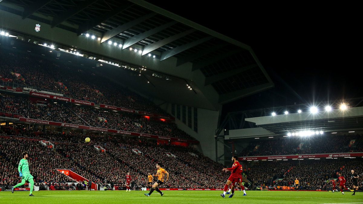 Liverpool is hoping to finish off its first domestic championship in 30 years.