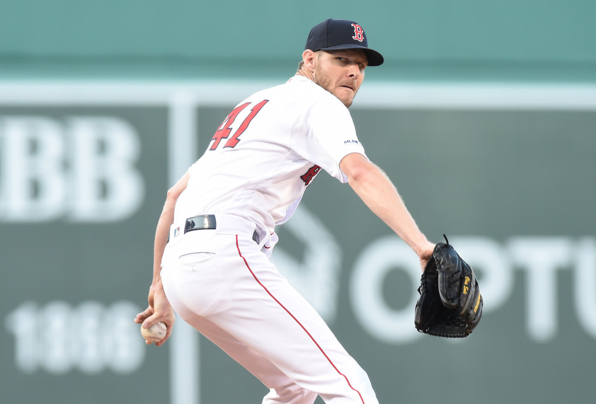The Red Sox have been short on details about their ace Sale's situation. (Bob DeChiara/USA TODAY Sports)