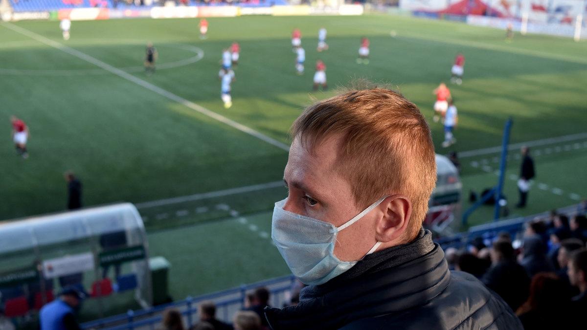 Belarus's soccer league plays on amid coronavirus