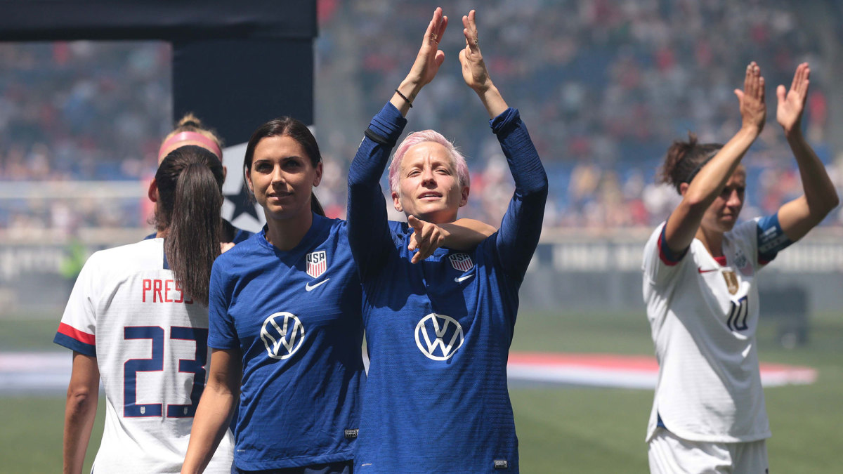 Alex Morgan, Megan Rapinoe and Carli Lloyd are leading the USWNT's equal pay fight