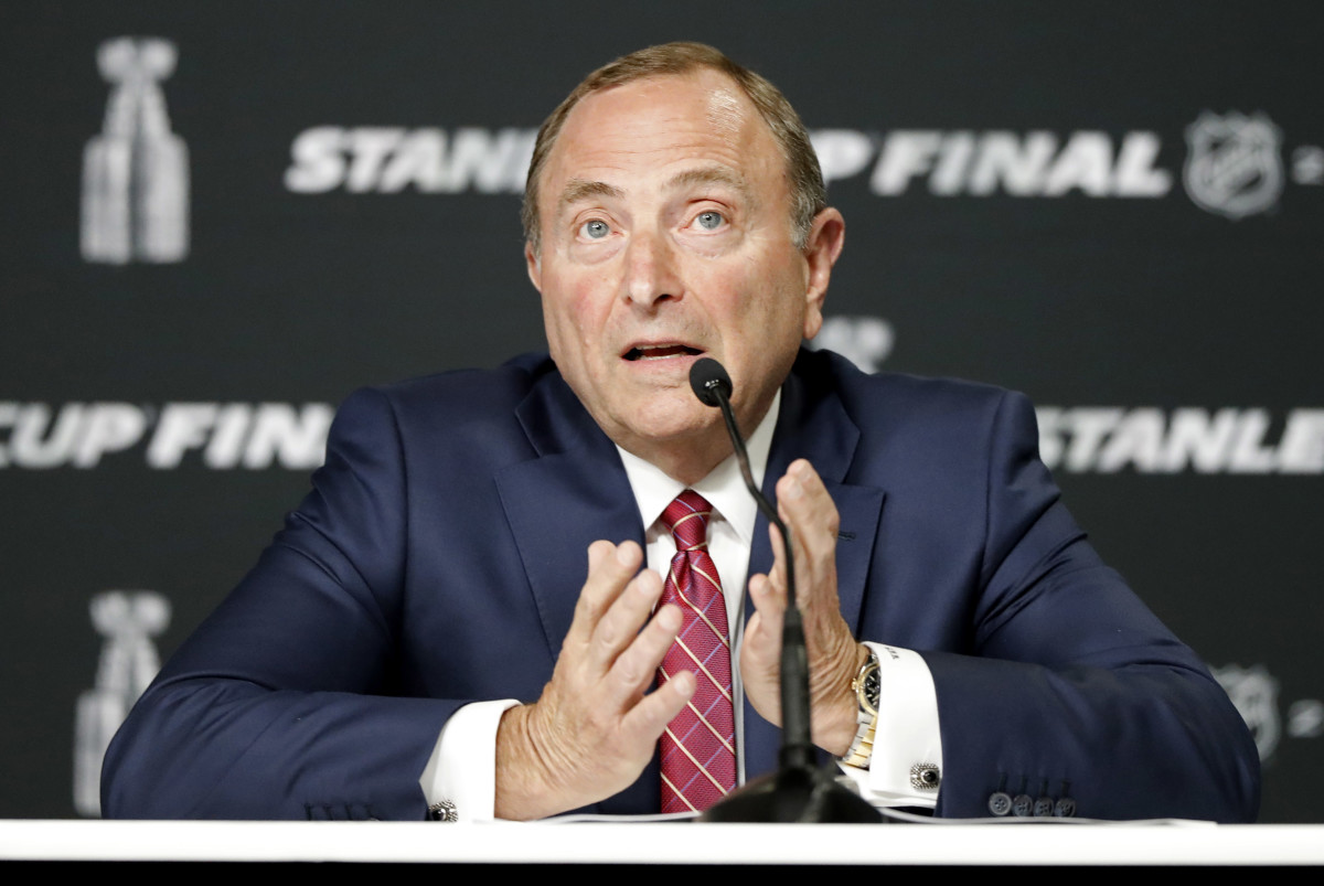NHL Commissioner Gary Bettman is used to being booed, but he's received little flak for how he's navigated his league through the coronavirus crisis so far.