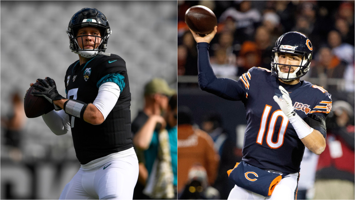 Bears Have Open Competition Between Foles, Trubisky