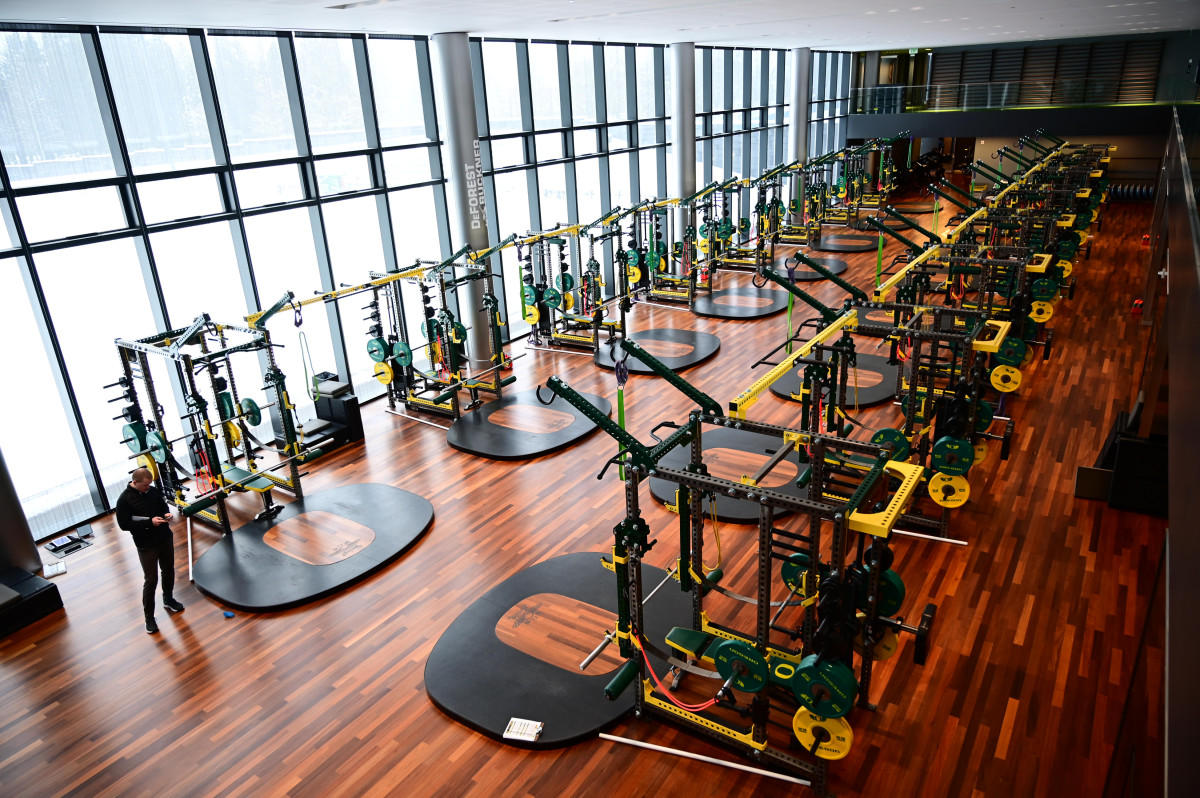 Schools like Oregon spend big bucks on training facilities for athletes, which are now sitting empty.