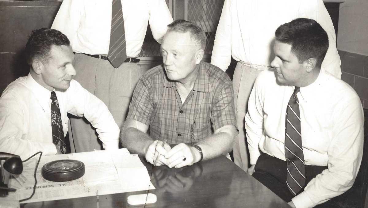 Maury Farrell, Red Drew, John Forney (circa 1952)