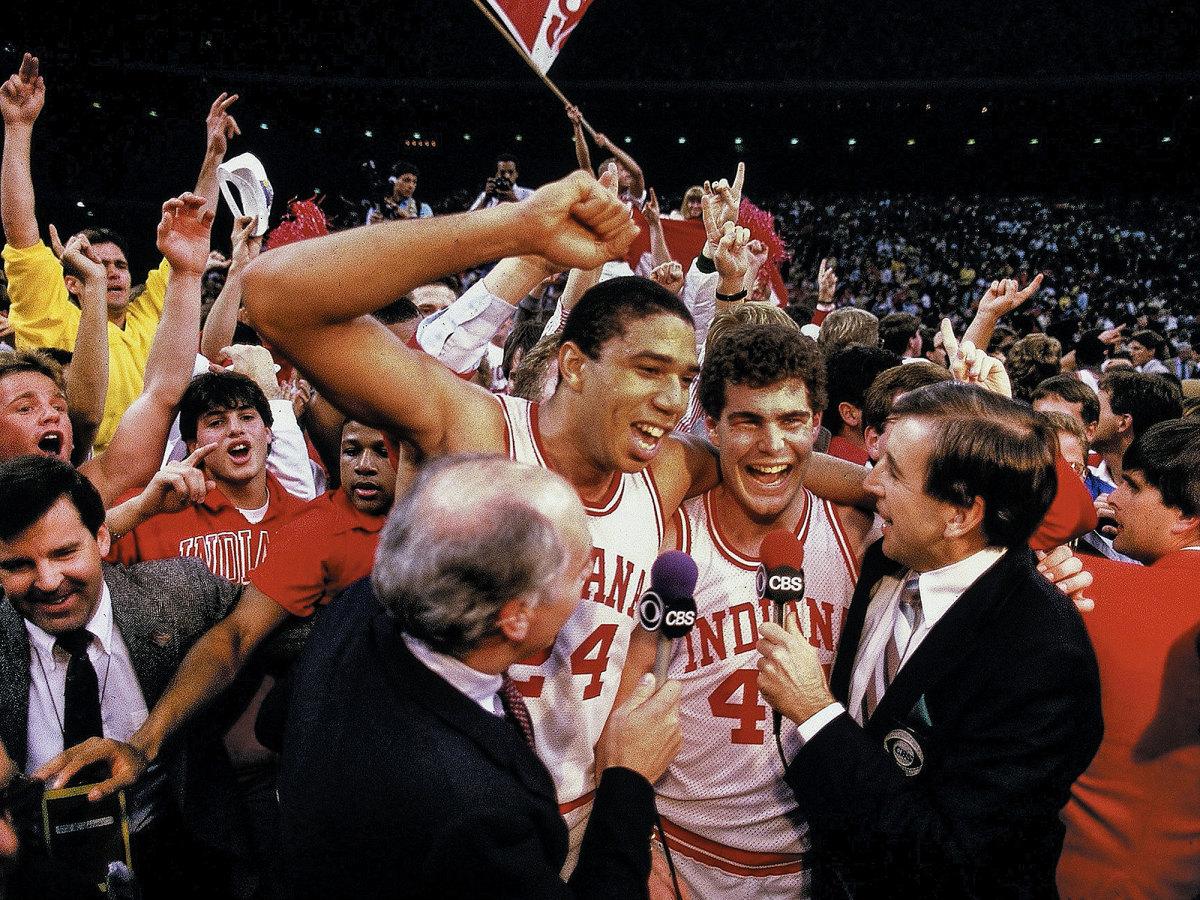 Indiana vs Syracuse basketball 1987