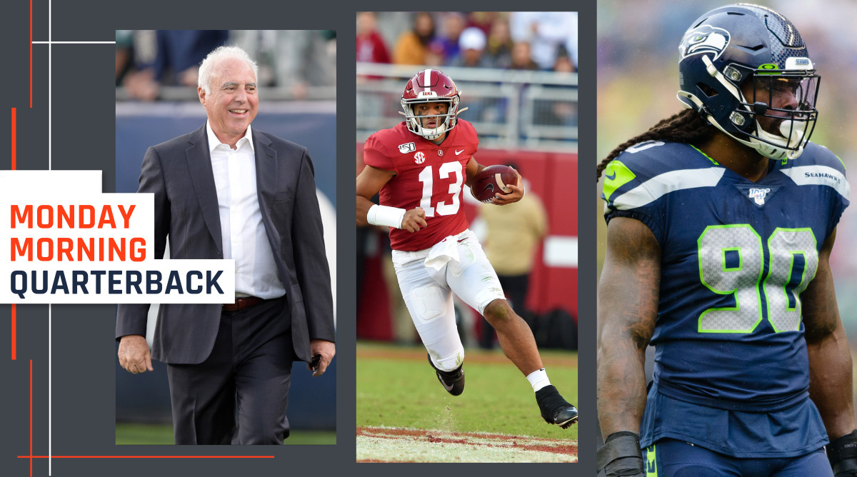 Jeffrey Lurie and Robert Kraft Step Up; Trouble With Canceled Physicals; Draft Notes - Sports Illustrated