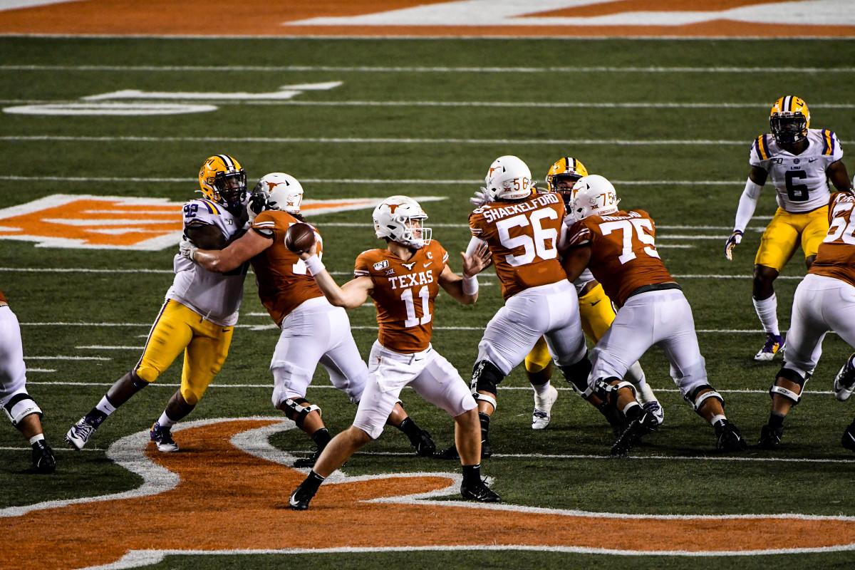 Texas football Sam Ehlinger