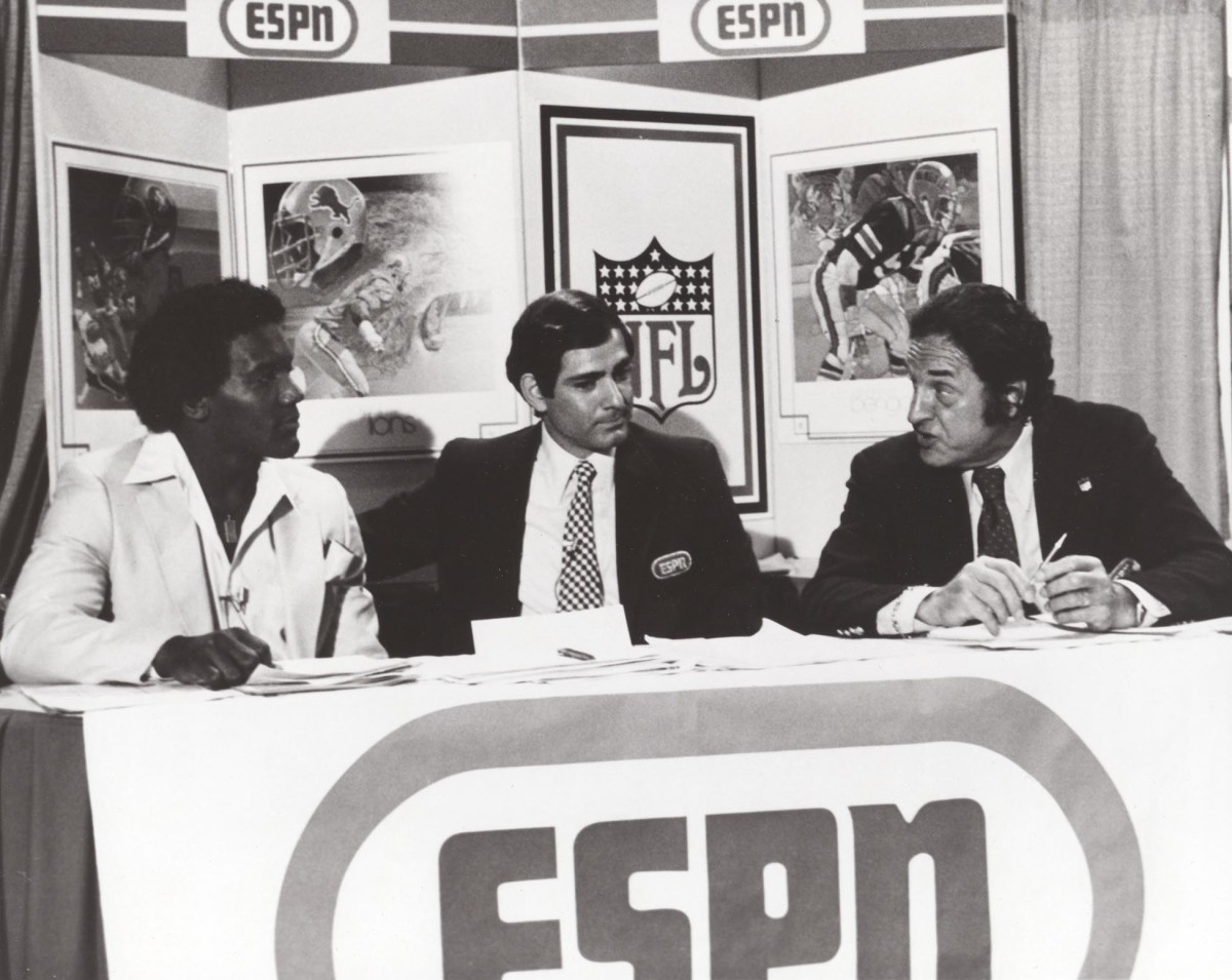 Billy Sims ESPN interview at 1980 NFL draft