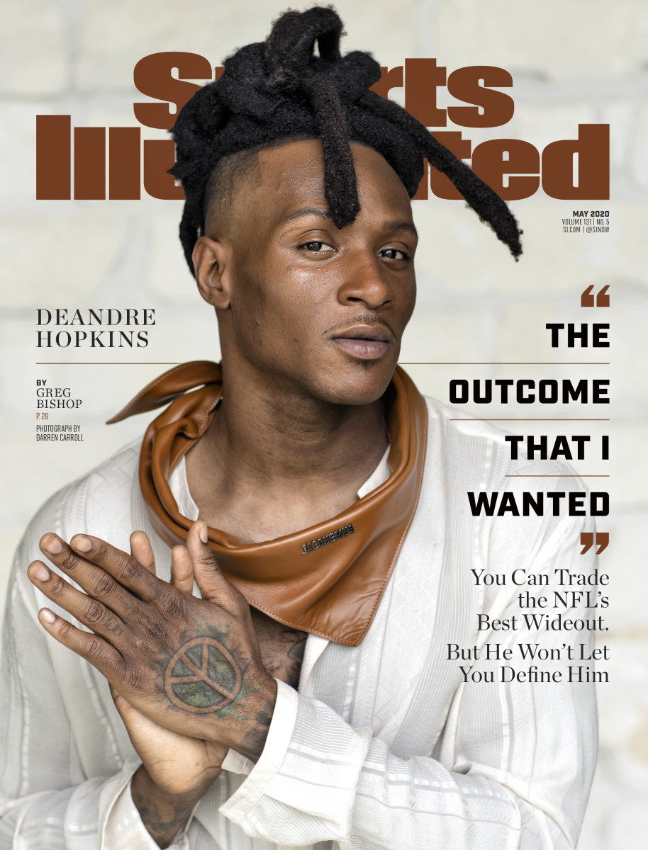 DeAndre Hopkins Sports Illustrated cover