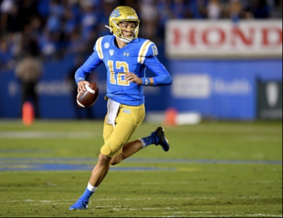 Austin Burton got only one start at UCLA before transferring to Purdue. (USA TODAY Sports)