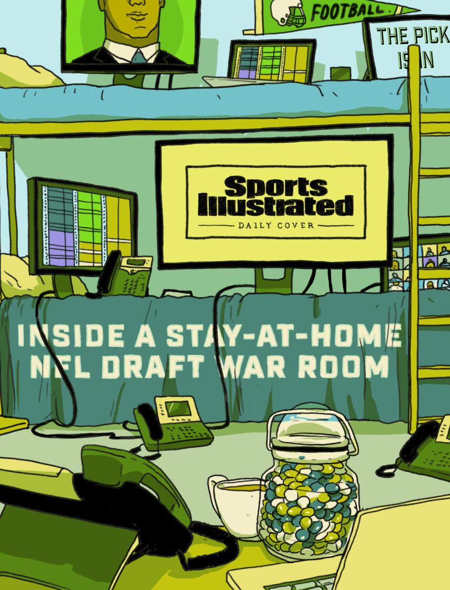 NFL Draft GM's virtual war room