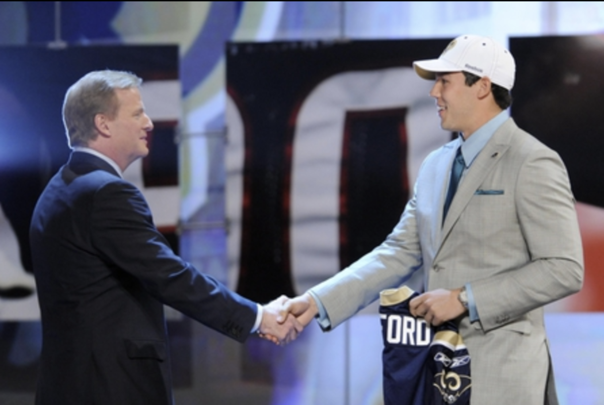 Oklahoma's fifth Heisman Trophy Winner, Sam Bradford was drafted No. 1 overall by the St. Louis Rams in 2010.