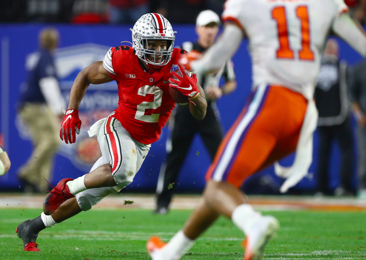 J.K. Dobbins adds more firepower to an already loaded Ravens running attack.