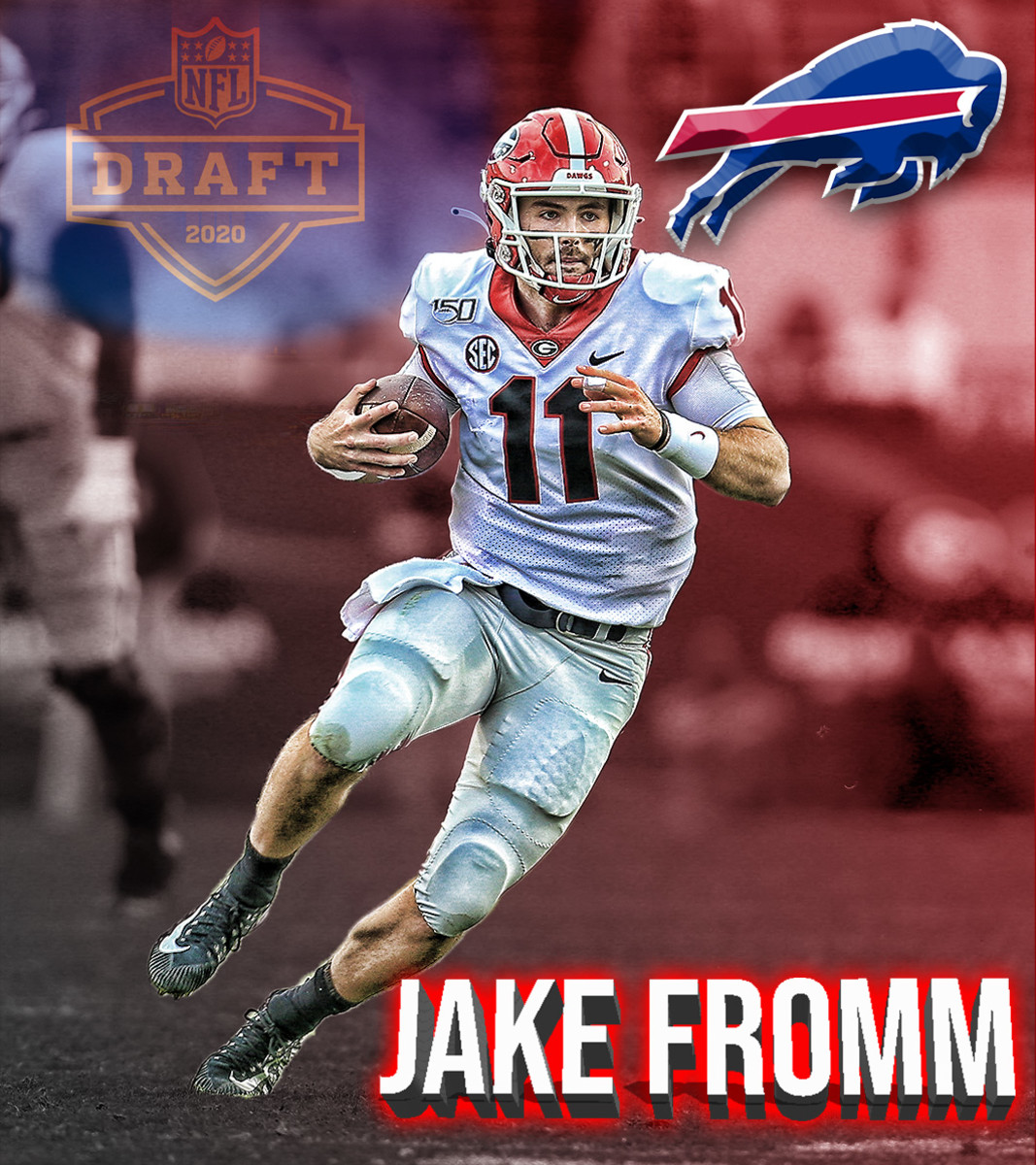 QB, Jake Fromm headed to the Bills